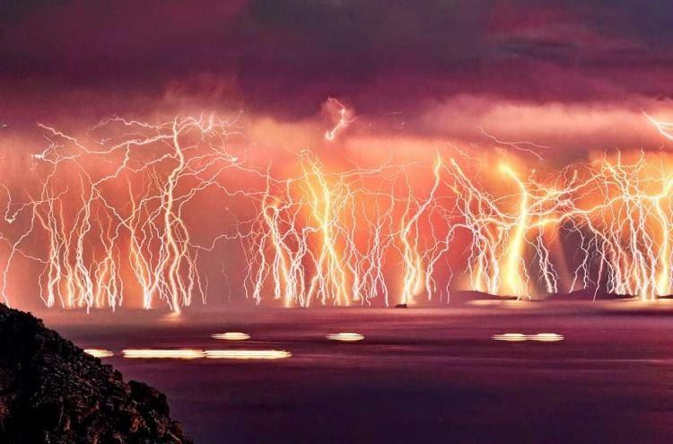The never-ending lightning storm