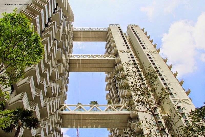 Sky Habitat أحدث مجمع سكني في سنغافورة