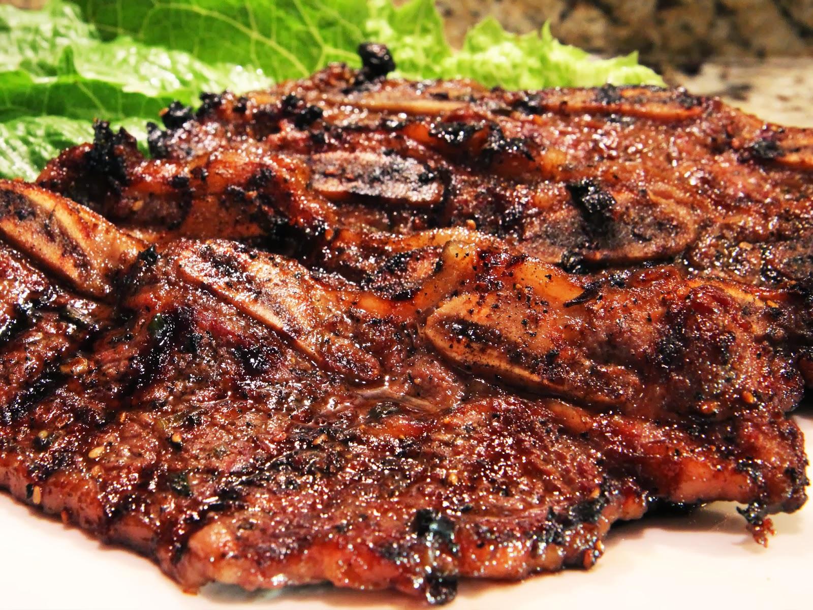 ... AVA).: How To Make Korean BBQ Short Ribs Asian Cooking Recipe Cuisine
