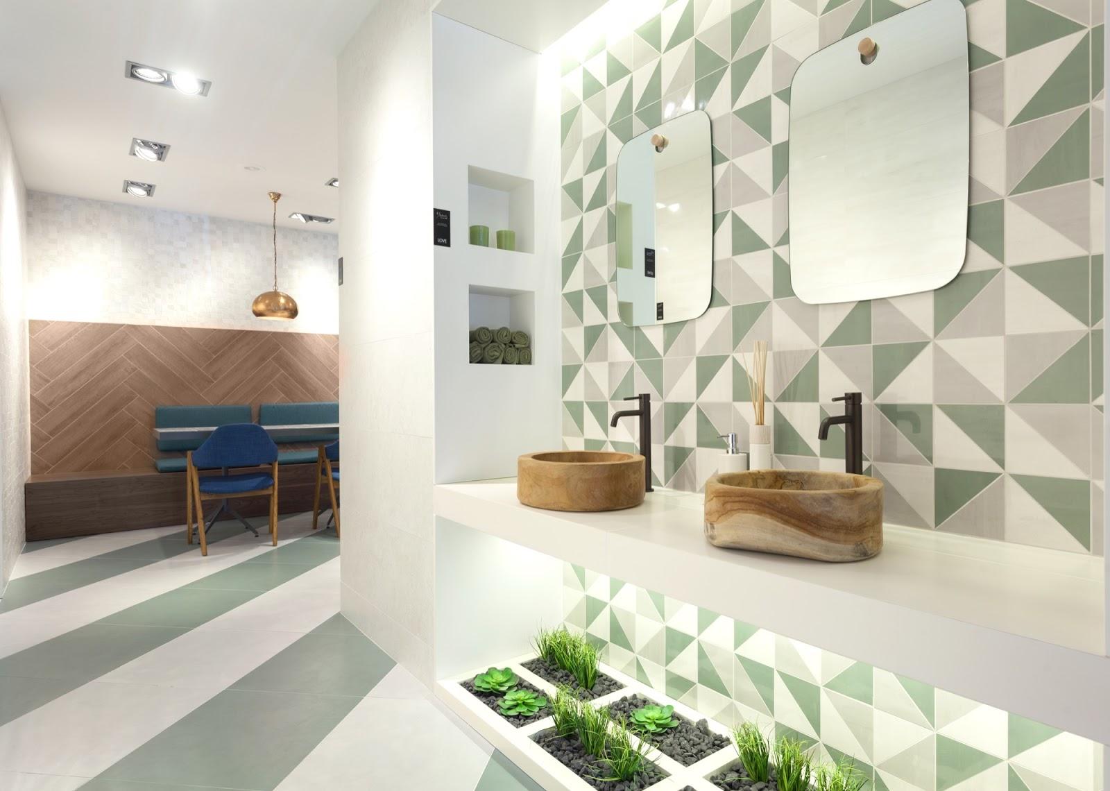 Mini jardim de suculentas no lavabo. Blog Achados de Decoração #476529 1600 1140
