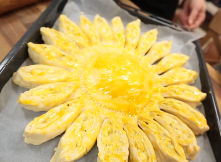 çiçek börek yapılışı