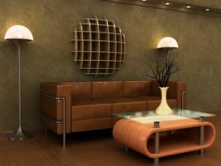 Hogares frescos creando una chispa retro con dise o de for Deco interiores
