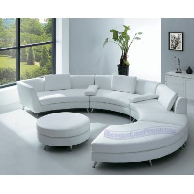 Bestcontemporerfurniture Sectional Sofa With Ottoman And