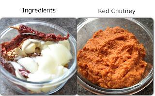 red chutney for masala dosa, special masala dosa, mysore masala dosa