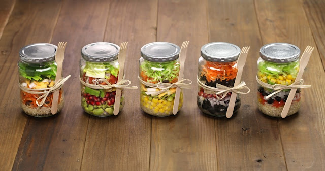 6 steps to the perfect mason jar salad
