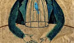 CHARLES BUKOWSKI . . . . . . . . . .  . . . .  Pássaro Azul