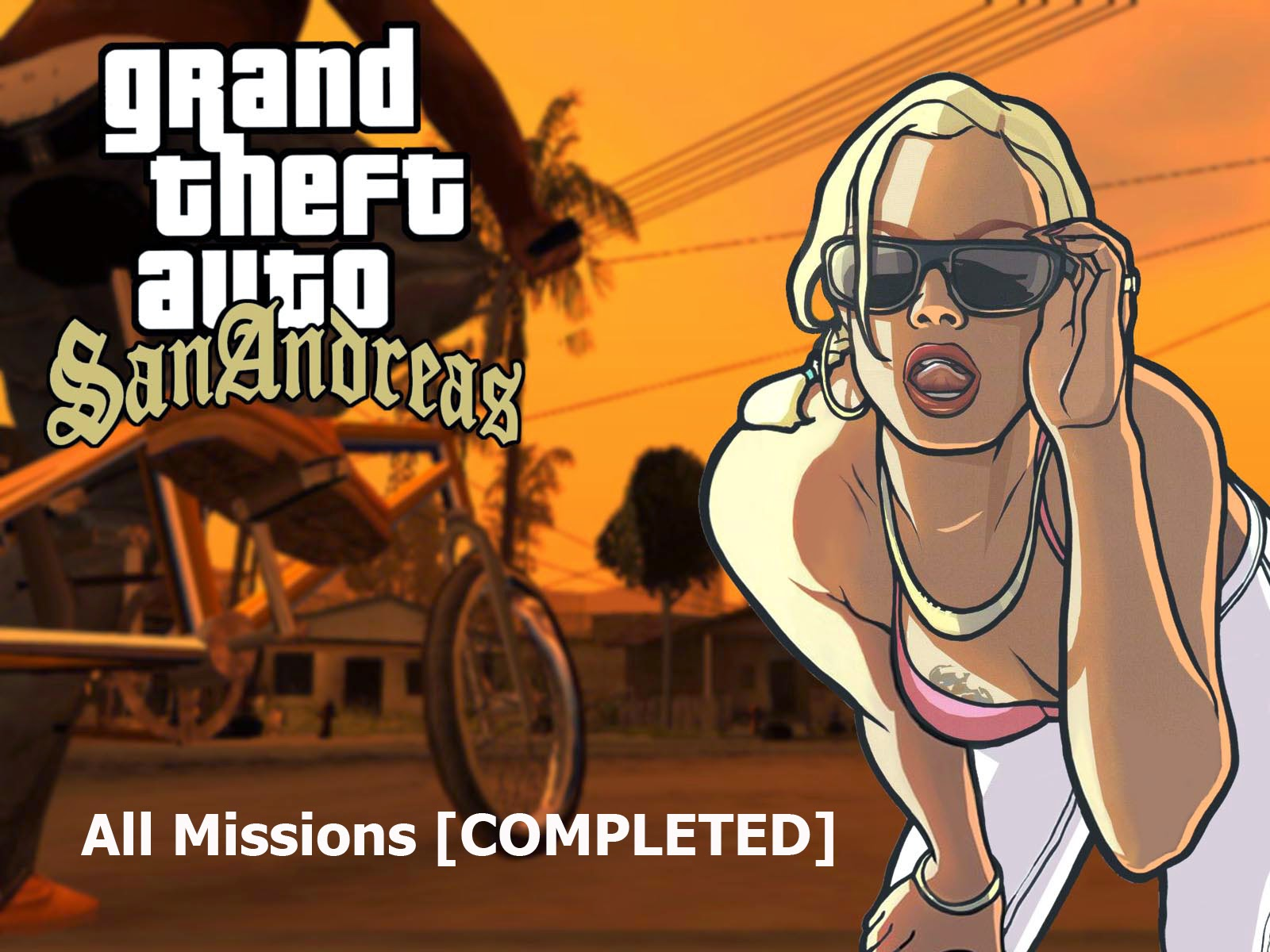 GTA : San Andreas All Missions [COMPLETED] Save Game Files