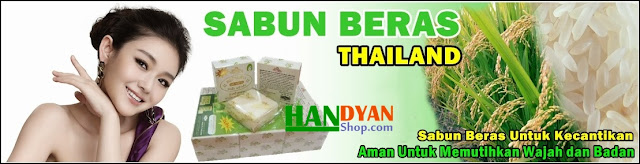 Sabun Beras Susu Thailand ASLI Untuk Perawatan Badan Dan Wajah