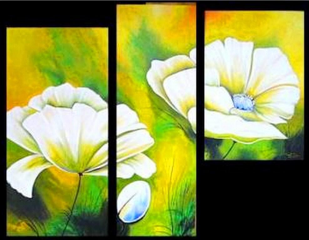Cuadros Minimalistas de Flores