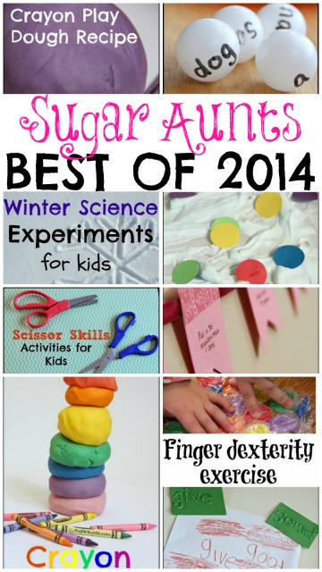 Best activities and crafts for kids on Sugar Aunts