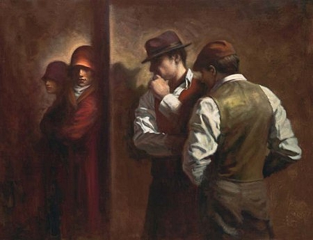 Doctor Ojiplático. Hamish Blakely. The Roaring Twenties. Pintura | Painting