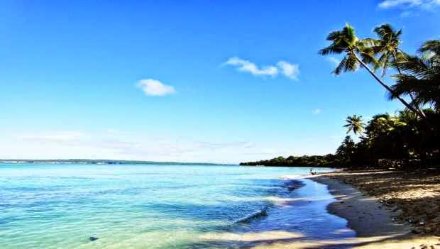 Keindahan pantai nirwana - tempat wisata alam di sulawesi tenggara