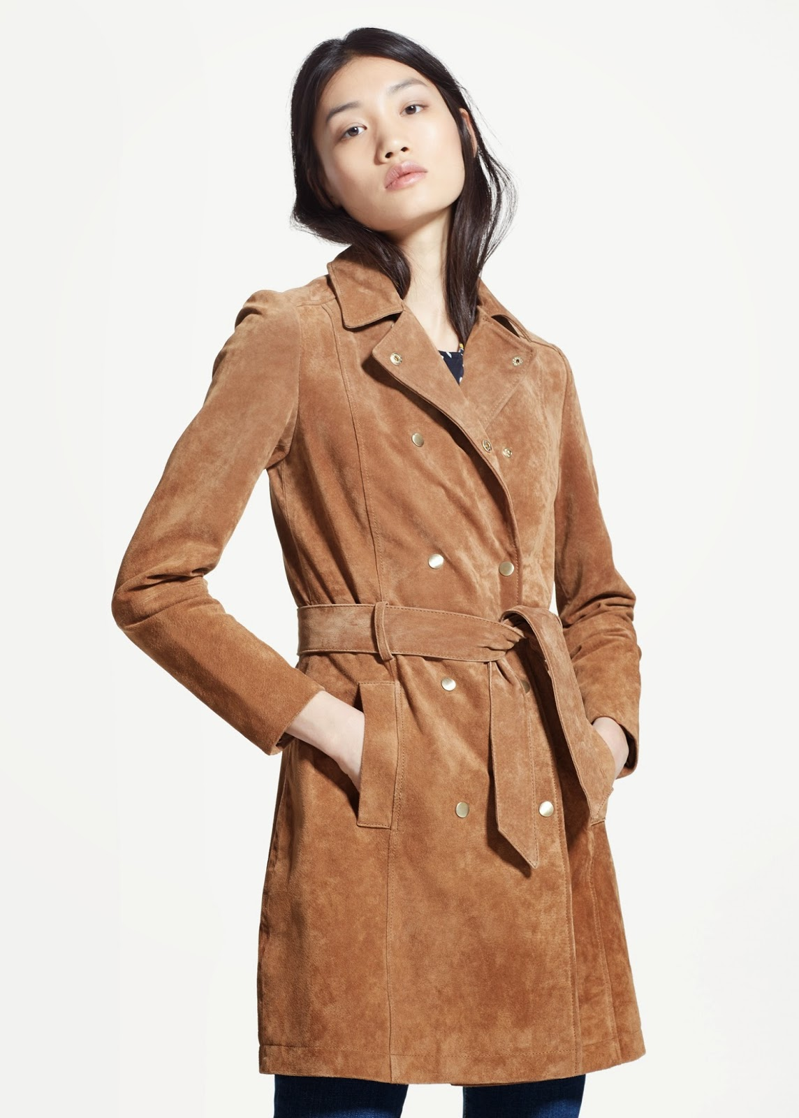 mango suede coat, brown suede mac,