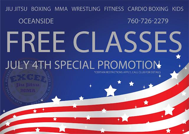 Free Fitness classes Oceanside, Wrestling in Oceanside, Boxing in Oceanside