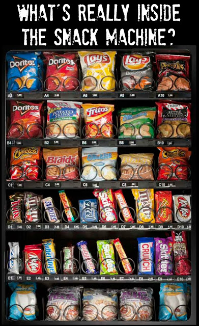 Nutritional Information in Snack Machines