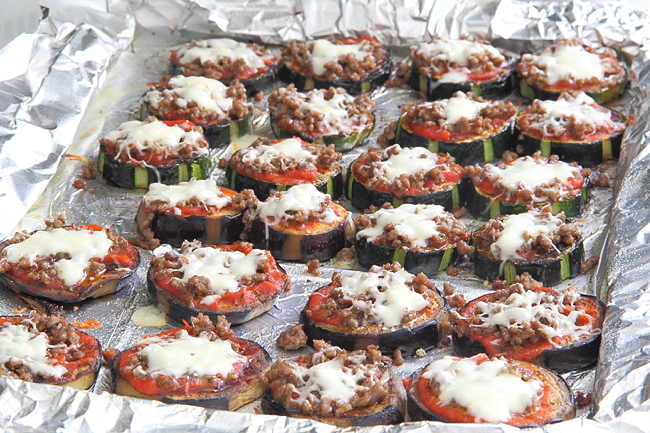 Овощные мини пиццы