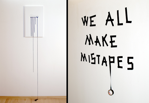 'time is running out' and 'mistapes' by Anotel Knotek