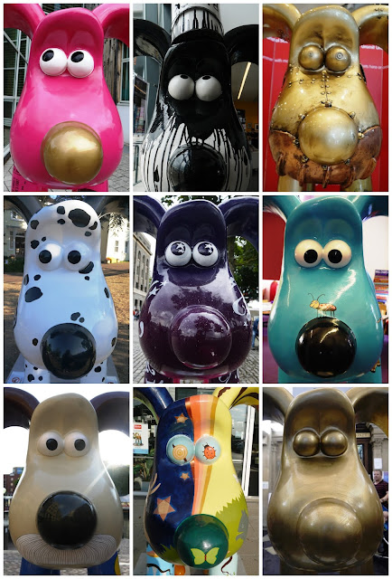 Gromit Unleashed heads
