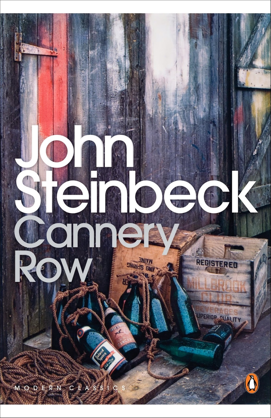an analysis of the setting in steinbecks cannery row John steinbeck's cannery row shows how people living there dealt with the hardships brought by the great setting 1 cannery row in monterey in california is a poem, a stink, a grating noise, a quality of light, a tone, a habit, a nostalgia, a dream 2 out in the kitchen doc.