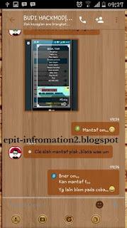 BBM Beta Themes Wood for ICS Up 2.90.0.1.217