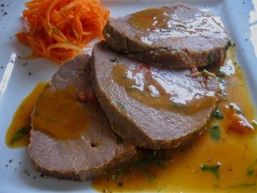 Filete de Cerdo con salsa de Mandarina