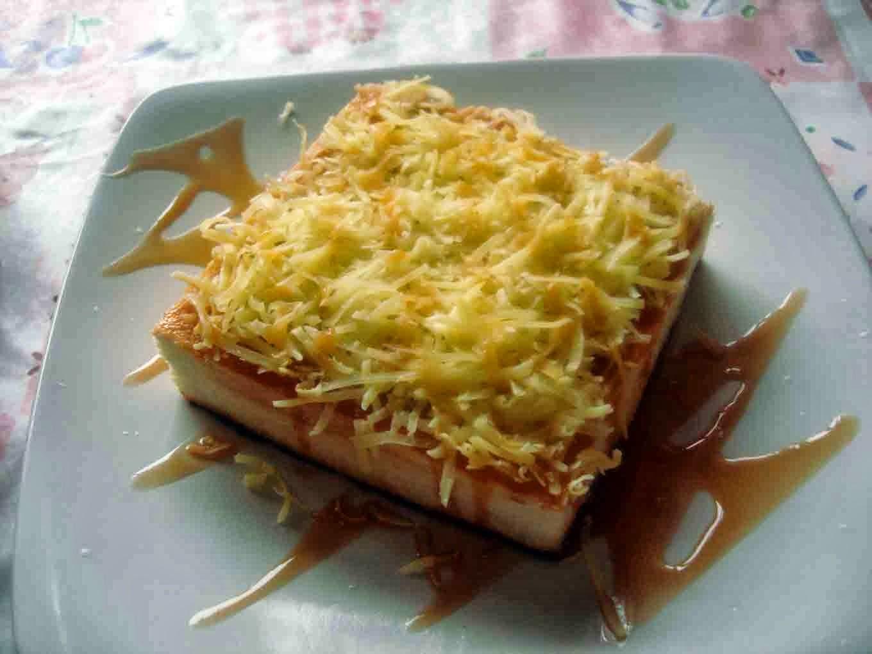 Resep Roti Bakar Keju Karamel