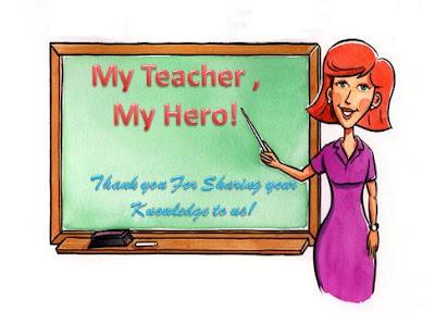 essays on my teacher my hero