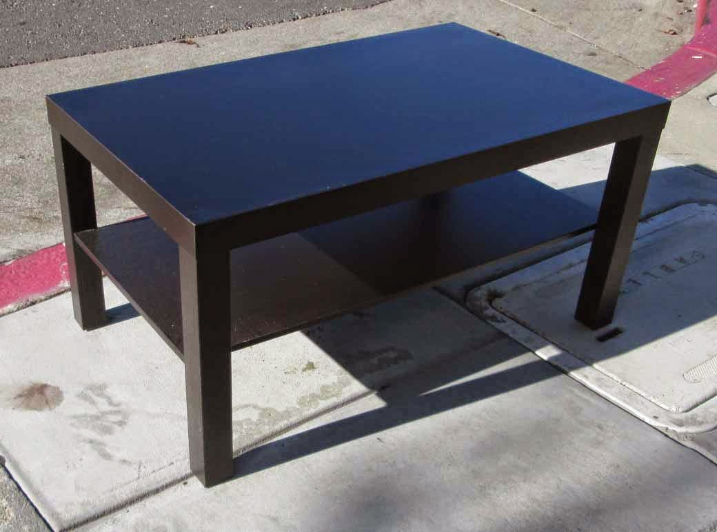 Uhuru Furniture Collectibles Sold Small Ikea Coffee Table 25