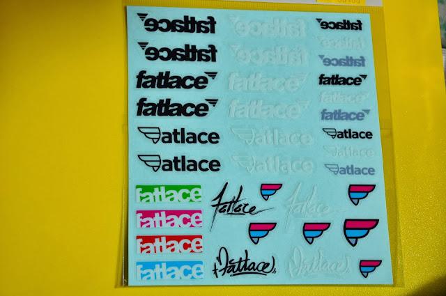 sticker fatlace decal vinyl