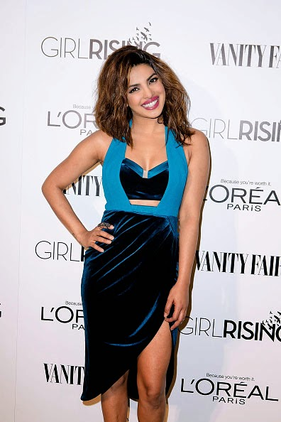 Priyanka Chopra at the Girl Rising Event