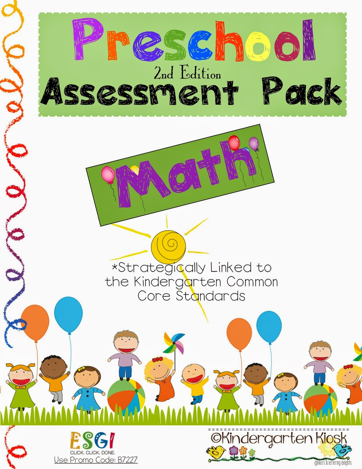 Kindergarten Kiosk Preschool Assessments