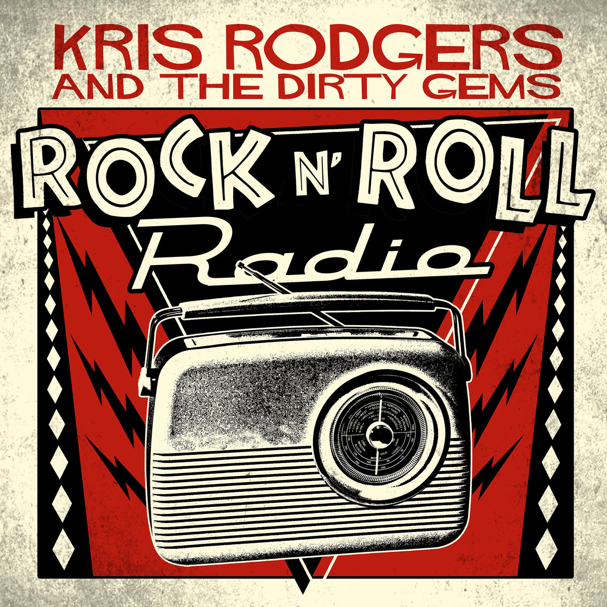 Canción de la semana!!!<br> Kris Rodgers &amp; The Dirty Gems - &#39;Rock N&#39; Roll Radio&#39;