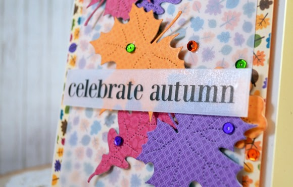 SRM Stickers - Celebrate Autumn by Stacey - #card #stickers #fall #diecuts #vellum