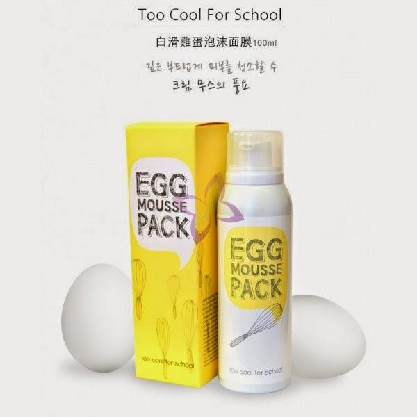 TOO COOL FOR SCHOOL Яичная маска для лица увлажняющая EGG 28 г