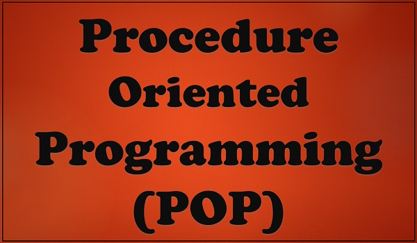 procedure oriented programming Procedure oriented programming object oriented programming divided into: in pop, program is divided into small parts called functions: in oop, program is divided into parts called objects.