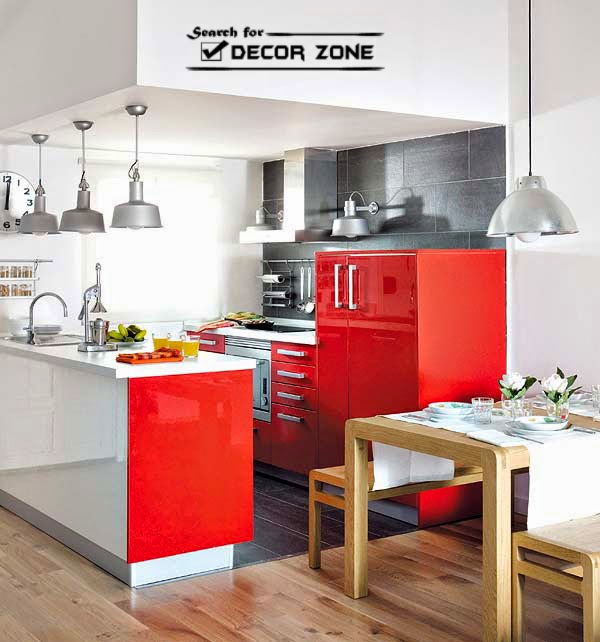 Red Kitchen Cabinets: 15 Ideas And Designs