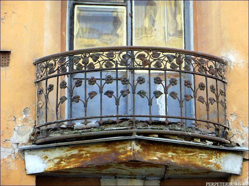 Балконная ковка на Петроградке