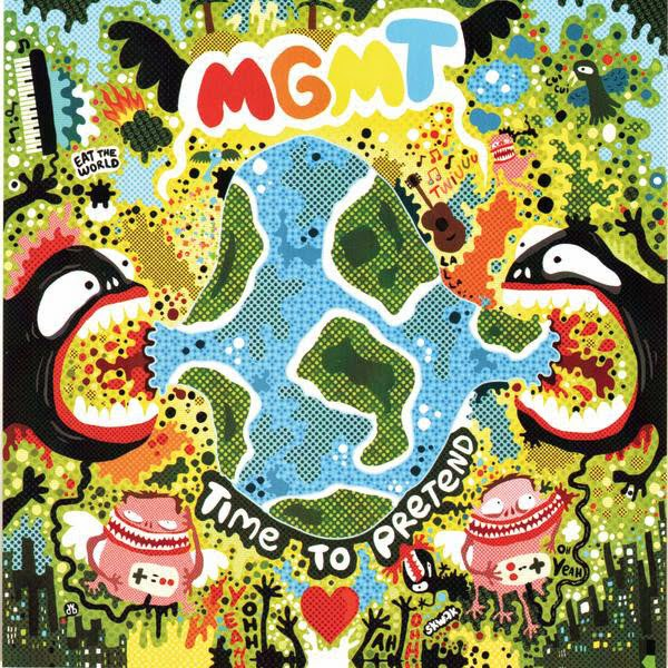 MGMT - Time to Pretend - EP Cover
