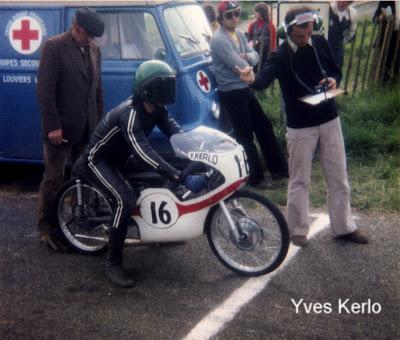 Pr paration des motos de course des ann es 50 70 for 50cc haute savoie