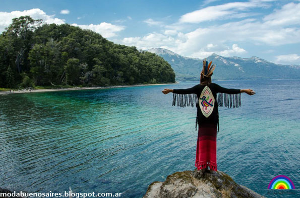 De las Bolivianas otoño invierno 2013 moda tejidos