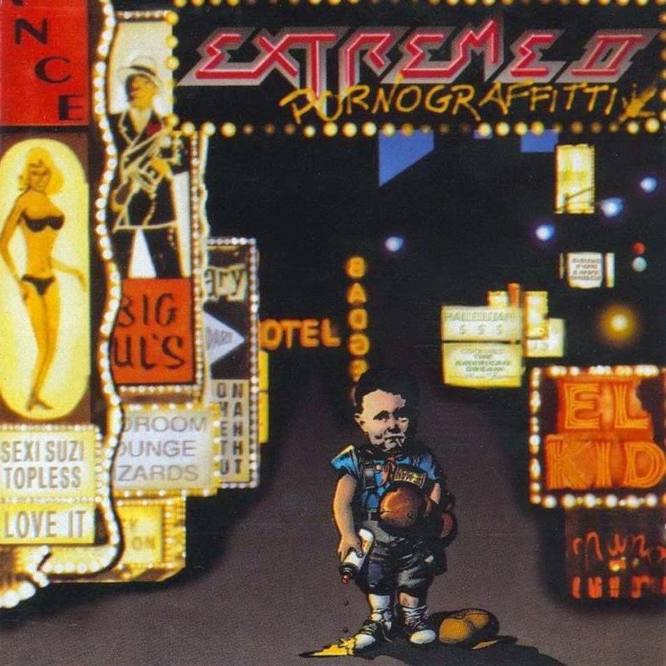 Portada Extreme II - Pornograffiti