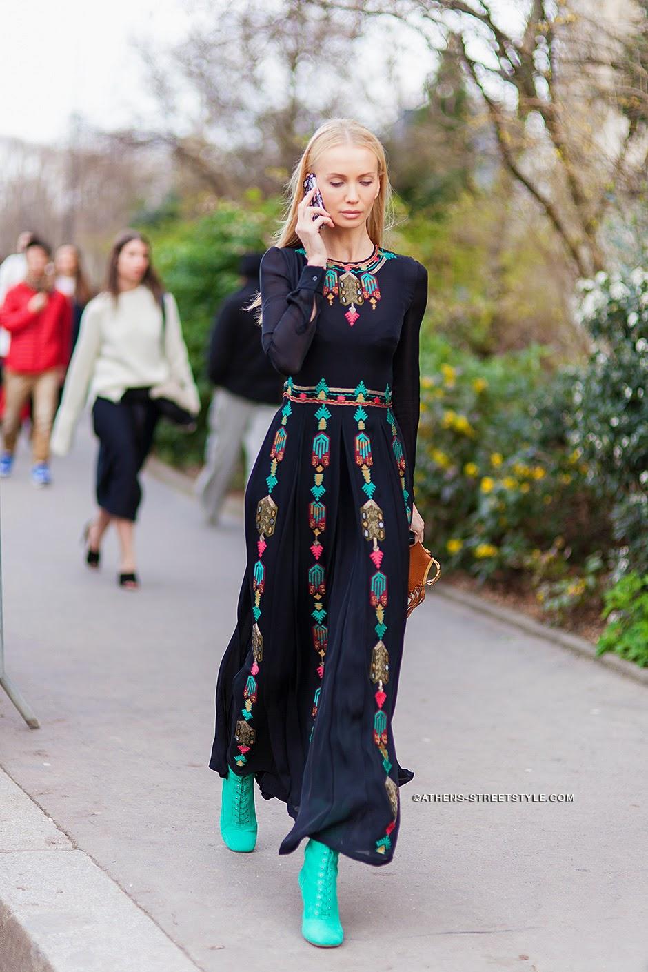 Платье майка длинное с чем носить
