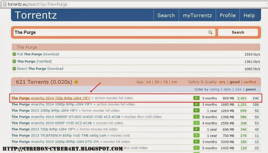 Cara Download Game & Film Gratis Menggunakan Torrent