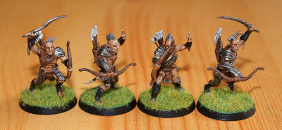 Keith's Wargaming / Painting Blog: The Hobbit - Hunter Orcs