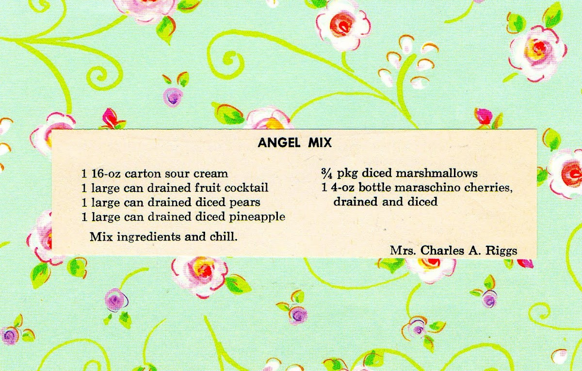 Angel Mix (quick recipe)