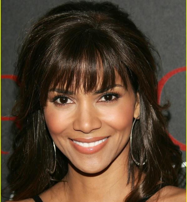 Halle Berry Bangs Black Hair Blog Archive Easy