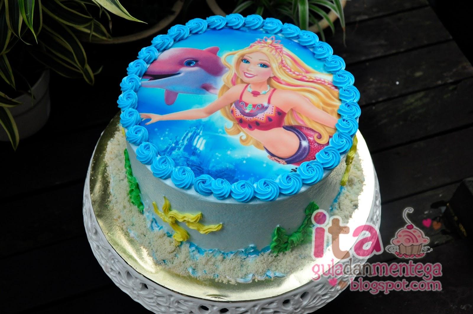 Gula Dan Mentega: Birthday Cake - Edible Image