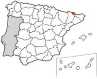 mapa ubicación Andorra