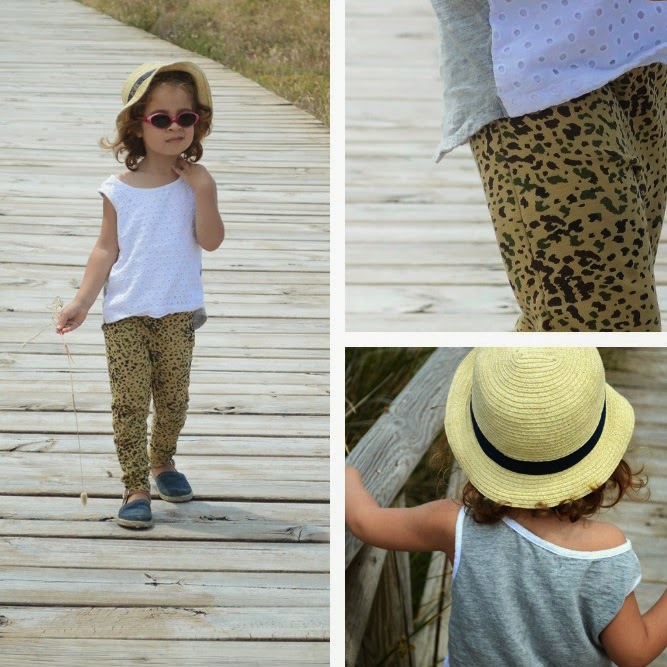 KIDdO Style: Mini Rodini camo leggings and GAP vest