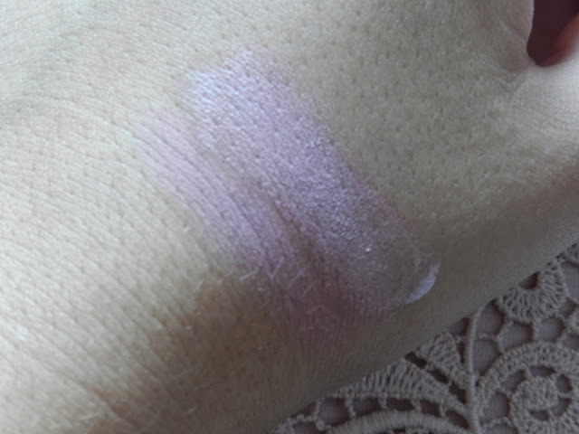 Swatches of Kryolan for Glossybox in Glossy Rosewood & Cargo Cheek Activator in Rose Flush